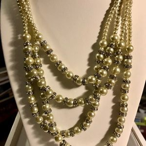 Pearl necklace set -tray 4